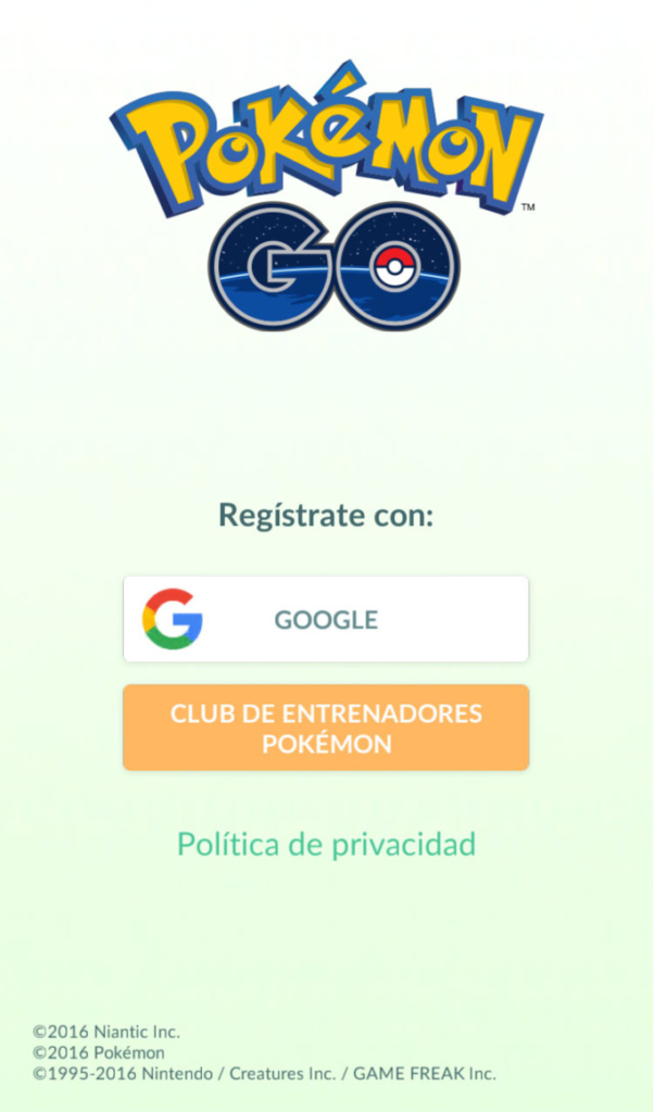 Club de entrenadores Pokemon