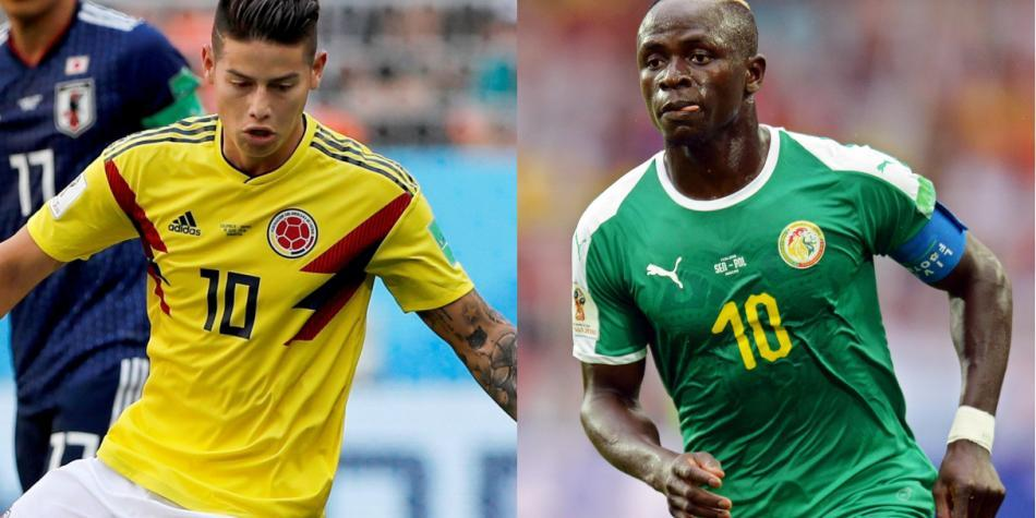 Colombia vs Senegal Señal en Vivo por Internet Gratis